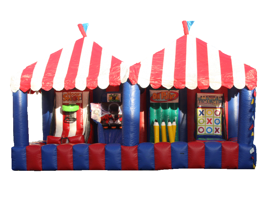 4 in 1 Inflatable carnival game