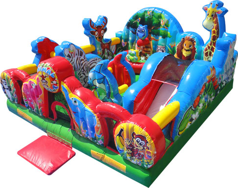 Animal Kingdom Toddler Bounce