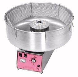 Cotton candy machine rental includes sugar cones and 200 servings
