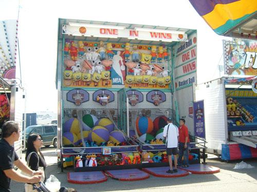 Basket Ball Carnival Game