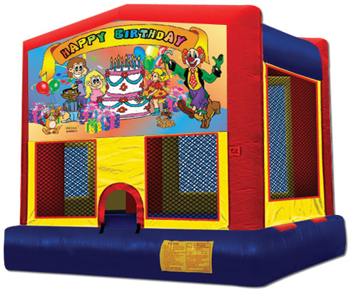 Happy Birthday Jumper - Bouncy Castle
