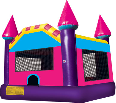 Purple Bouncy Castle - Jumping Castle 13' x 13'