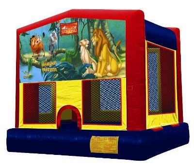 Inflatable Lion King Bouncer